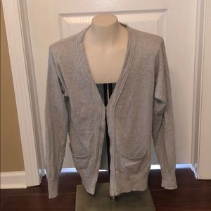 Forever 21 Grey Cardigan Sweater